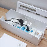 Plug Socket Storage Boxes Wire Cord Organizer Phone Charging Cable Collect Cases