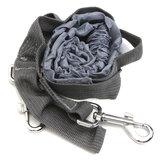 Poliéster Elástico Pet Cachorro Leash Lead Strap Corda Cintura Cinto