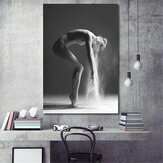 Nordic Dancing Girl Lona Oil Pinturas impresas Home Wall Poster Decor Decoraciones sin marco
