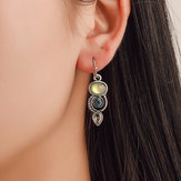 Bohemian Rotating Crystal Earring