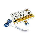 Waveshare®7.5 Inch 640×384 E-paper Ink Screen Yellow Black and White SPI Interface with Driver Board