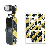 3M Gradient Padrão Acessórios para câmera de filme protetor adesivo para câmera Gimal DJI OSMO Pocket 2