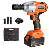 Original              TOPSHAK TS-PW3 Brushless Cordless Electric Wrench 550N.m Max 3000 BPM 4.0A Impact Wrench with Lithium Ion Battery