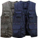 Tactical Functional Vest Multi Pocket Outdooors Photography