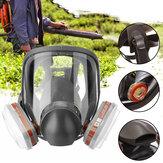 7 in1 3 Schnittstelle 6800 Maskenkombination 6001 Filter mit Filter Baumwollfilterbox Vollgesichtsmaske Atemschutzmaske