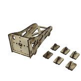 Asiento de soporte de soporte de madera motor universal para avión de papel de avión RC