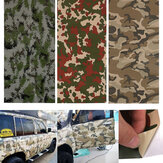 150X60cm Camo camuflaje Coche Pegatinas Forest Desert Digital Vinyl Film Wrap Decal Air Bubble Free