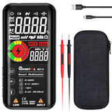 MUSTOOL MT10 / MT11 Digital Smart 9999 Counts True-RMS Multimeter Color LCD Display DC AC Voltage Capacitor Ohm Diode NCV Hz Tester