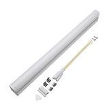 T5 5W 30cm 2000lm SMD 2835 LED Durchsichtige durchsichtige Abdeckung Tube Leuchtstofflampe AC220V