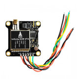 AKK Infinite DVR VTX Prise en charge du transmetteur FPV commutable 25/200/600 / 1000mW Alimentation audio intelligente