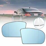 Auto Links / Rechts Blauw Anti Glare Verwarmde Achteruitkijkspiegel Glas Voor Benz CE Klasse W211 W203 A2038100121 A2038100221