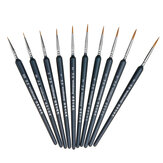 10pcs Hook Line Pen Set Watercolor Brush Painting Set Fine Detail Art Brush Painting Stationery School Students Drawing Supplies