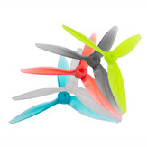 2 Pairs Gemfan Flash 5144 5.1x4.4x3 3-blade 5 Inch PC Propeller CW CCW for RC Drone FPV Racing