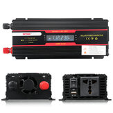 6000 W Peak Car Power Inverter LCD Display DC 12 / 24V para AC 110V / 220V Modificado Conversor de Onda Senoidal