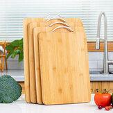 Fa vágódeszka Bambusz tér felakasztható karbonizált vágódeszka Sűrített konyhai vágódeszka