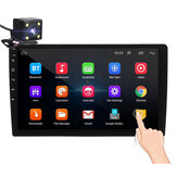 iMars 10.1 Inch 2Din for Android 8.1 Car MP5 Player 1+16G IPS 2.5D Touch Screen Stereo Radio GPS WIFI FM with Backup Carema
