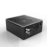 HYSTOU S210H Intel Core i9-9880HK Barebone Oito Core 2.3GHz a 4.8GHz Intel HD Gráficos Win10 M.2 2280 SSD