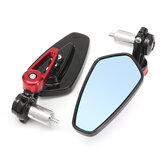 7 / 8inch Aluminium Rückansicht Seitenspiegel Lenkerende Für Motorrad Universal