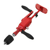 Machifit 0.8-10mm Drill Chuck Two Gear Hand Drill Automatic Miniature Hand Crank Tapping Machine