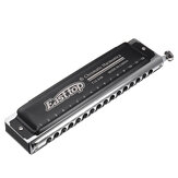 Easttop T16-64K Professional 16 Holes 64 Tone Chromatic Harmonica Mouth Organ Blues Harp With Canvas Bag