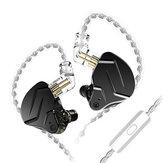 KZ ZSN Pro X 1BA+1DD In Ear Earphone HIFI DJ Sport Earbud Earphone Headset Running Sport Headphones