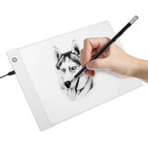 A4 Graphics Tablet LED Drawing Tablet Thin Art Stencil Drawing Board Light Box Tracing Table Pad