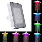 Mudança de 7 cores movida a água LED teto chuveiro banheira sprinkler controle de temperatura para Banheiro banheiro portátil