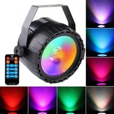 ARILUX® AC90-240V 10W RGB UV LED Stage Light Remote Control Sound-activated Par Lamp for Christmas
