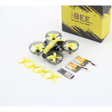 BeeRotor TinyBee 78mm 5.8G 40CH 600TVL Micro FPV Coreless RC Drone Quadcopter Two Batteries Version