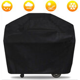 Waterproof Black Barbecue Cover Anti Dust Rain Cover Garden Yard Grill Cover Protector For Outdoor BBQ Accessories
