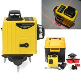 12 Line 3D 360 ° Infrared Laser Level Auto Leveling Vertical e Horizontal Level Cross