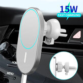 Bakeey 15W Car Magsafe Wireless Charger Airvent Mount Magnet Adsorbable Phone Car Holder For iphone 12 12 Pro Max 12 Mini Fast Charging