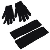 Latex Industrial Rubber Glove Acid and Alkali Resistant Anti-corrosion Black