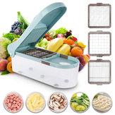 Slicer ajustável do interruptor inversor vegetal multifuncional do alimento do cortador com a ferramenta da cozinha de 3 lâminas