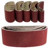 5pcs 457x75mm Sanding Belt 60/80/100/120/240 Grit Abrasive Belts Polishing Tool