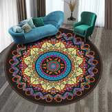 Modern Round Rugs Antiskid Bedside Blanket Foot Pad Kitchen Carpets for Living Room Sofa Coffee Table Pad