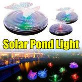 Extérieure Solaire Alimenté LED Piscine Lumière Papillon Libellule Motif Changement de Couleur Flottant Jardin Étang Lampe