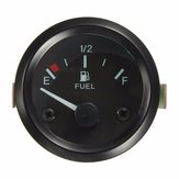 Universal Car Fuel Level Gauge Meter With Fuel Sensor E-1/2-F Pointer 2