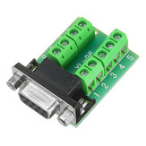 Female Head RS232 Turn Terminal Serial Port Adapter DB9 Terminal Connector