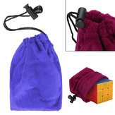 Magic Cube Game Puzzle Ball Storage Velvet Bag Drawstring Gift Pouch Toy Protect