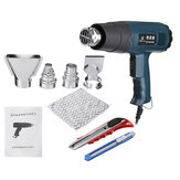 2000W Electric Handheld Extruder Hot Air Guns Extrusion Welding