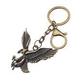 Metaal Animal Hanger Uil Giraf Eagle Sleutelhanger Unisex Accessoires