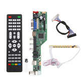 T.SK106A.03 Universal LCD LED TV Controller Driver Board TV/PC/VGA/HDMI/USB+7 Key Button+2ch 8bit 30 LVDS Cable