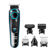110V-240V USB Rechargable Hair Clipper Multifunctional Hair Trimmer Electric Shaver Razor 10 Gear Adjustable Limit Comb