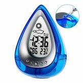LT-130 Water Power Digital Alarm Reloj Estación meteorológica hidrodinámica ecológica Home Confort