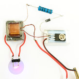 5PcsInverterBoostGeradordealta pressão Arc Ignition Módulo de bobina mais leve Electronic DIY Production Kit