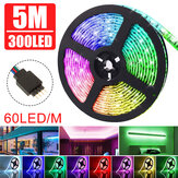 5M DC12V niet-waterdicht Warm Wit Zuiver Wit RGB 3528 SMD Flexibele LED Strip Light voor Indoor Home Decor