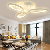 3 Heads Modern LED Ceiling Acrylic Home Lights Home Chandelier Lamp+Remote 3200-6500K