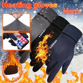 Bakeey Winter Warm Windproof Anti-Slip Touch Screen Outdoors Motorcycle Riding Couple Gloves