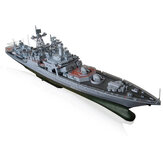 1: 200 High Simulation Missile Destroyer Battleship Model DIY Education Bouwspeelgoed